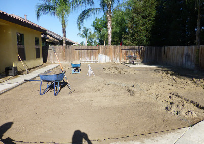 Serenity Home Landscape - before