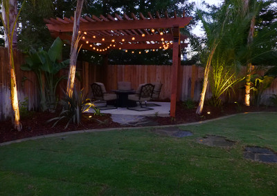 Serenity Home Landscape - Lightscape